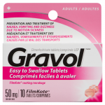 0058738325513_T1_Gravol_Easy_to_Swallow_Tablets_Adults_50_mg_10_Fil