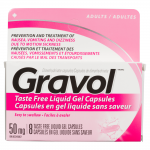 0058738327029_T1_Gravol_Dimenhydrinate_Capsules_Adults_50_mg_8_Tast
