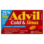 0062107904315_T1_Advil_Cold___Sinus_Analgesic___Decongestant_50_Cap