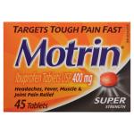 0062600961174_T1_Motrin_Ibuprofen_Tablets_USP_400_mg_Super_Strength
